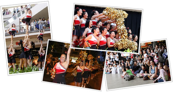 Hawaii Cheer & Dance Festival, Hawaii Cheerleading
